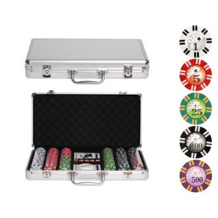 Набор для покера Partida Royal Flush на 300 фишек