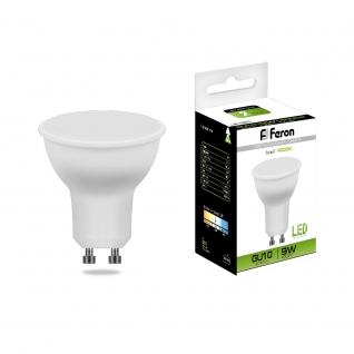 Светодиодная лампа Feron LB-560 (9W) 230V GU10 4000K MR16