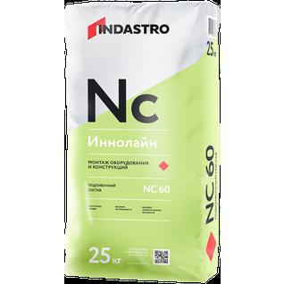 ИНДАСТРО NC60 Иннолайн подливочная смесь для монтажа оборудования (25кг) / INDASTRO NC-60 Иннолайн подливочный состав для монтажа оборудования (25кг) Индастро