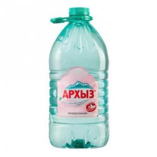 Вода минеральная Архыз 5л без газа пэт. 2шт/уп.