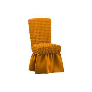 Комплект чехлов для шести стульев ПМ: Ми Текстиль Чехол на комплект из 6 стульев жатка