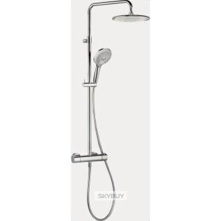 Душевая стойка Kludi Freshline dual shower system 6709205-00