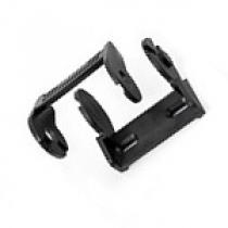 Держатель пластикового кабель-канала 10х15