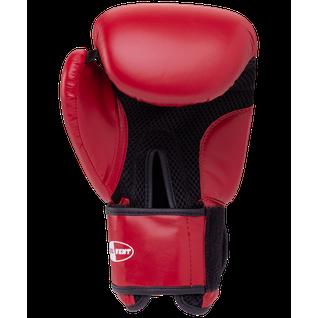 Перчатки боксерские Green Hill Silver Bgs-2039, 10oz, к/з, красный