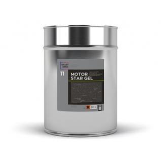 диэлектрический гидрофобный гель для мойки двигателя smart motorstar gel 11 (1л) Smart Open