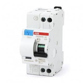 Дифференциальный автомат 2-х полюсный С25 30мА ABB, DSH 941