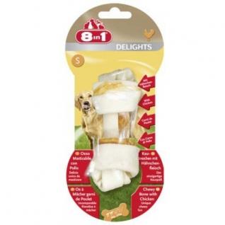 8in1 8in1 DELIGHTS S косточка для мелких и средних собак 11 см