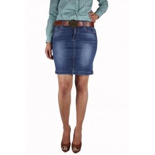 Женская джинсовая юбка MossMore MR-1084CT-393