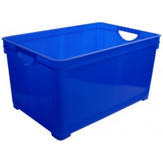 Ящик для хранения универсальный 48 л, синий