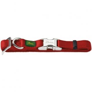 Hunter Hunter ошейник для собак ALU-Strong L (45-65 см) нейлон с металлической застежкой бордо