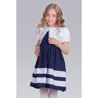 Baby Steen. Стильное платье для девочки с болеро 3С1386