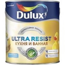 Краска водно-дисперсионная Ultra Resist База BW 1л для кухни и ванной Dulux