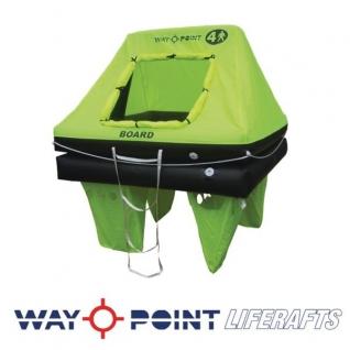 Waypoint Спасательный плот в контейнере Waypoint Coastal 4 чел 60 x 44 x 24 см