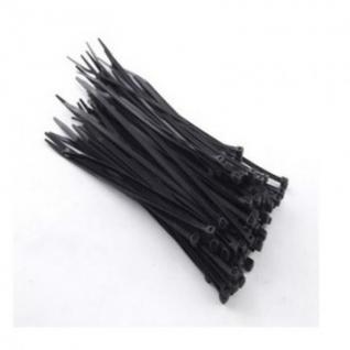 Хомут 150 мм х 3 мм, 100 шт, нейлон, Rexant, черный, 07-0151