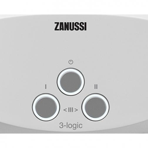 Электрический проточный водонагреватель 5 кВт Zanussi 3-logic T (5,5 kW) - кран 6762321 1