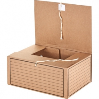 Короб архивный с завязками Attache Economy 150мм,5 шт.уп