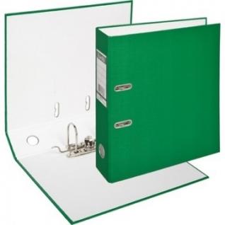 Папка-регистратор BANTEX ECONOMY, 1446-15, б/мет.уг., 70мм, зеленый