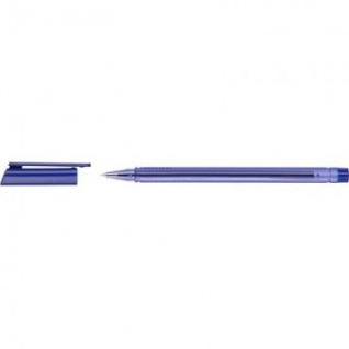 Ручка шариковая Attache ATLANTIC трехгранный корп,цв.чернил синий