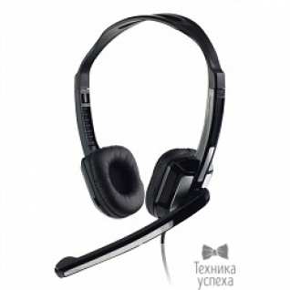 Cbr CBR CHP-540M, Серебристо-чёрный Гарнитура 3,5 мм, микрофон, регул. оголовье, регул. громкости