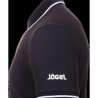 Поло детское Jögel Jpp-5101-061, черный/белый размер XS