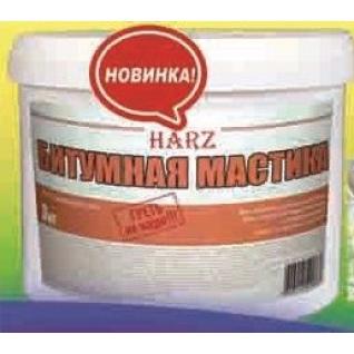 "Мастика битумная ""Harz"" гидроизоляционная 20 кг"
