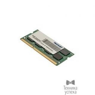 Patriot Patriot DDR3 SODIMM 4GB PSD34G160081S (PC3-12800, 1600MHz, 1.5V)