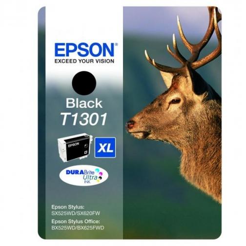Картридж Epson T1301 (C13T13014010) для Epson, чёрный, 945 стр. 7287-01 851309