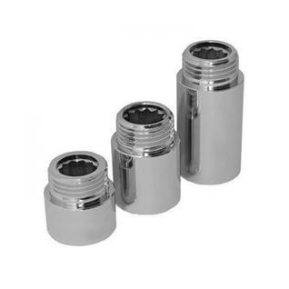 Удлинитель хром Ду 15 х 80 мм Remsan