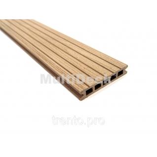 Террасная доска MultiDeck Pro Дерево 3000*150*27 мм Multiplast