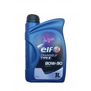 Трансмиссионное масло ELF Tranself TYP B 80W-90, 1л