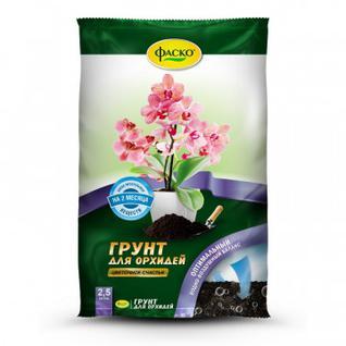 Грунт Цветочное счастье Орхидея 2,5л Фаско