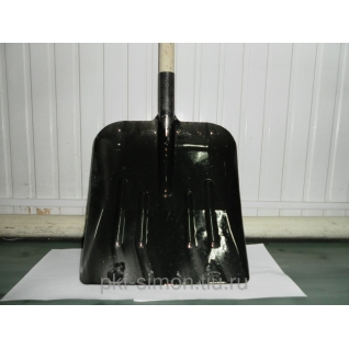 Лопата снеговая/зерноуб. Металл, тол=1мм (уп.10шт)