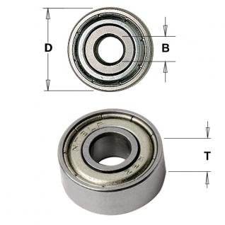 Подшипник для насадных фрез CMT D=62/35x14