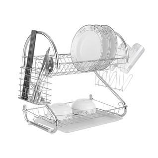 Сушилка для посуды ПМ: Оптидом MR-1025-38 Сушка 2-х уровн.д/посуды длин.Basic