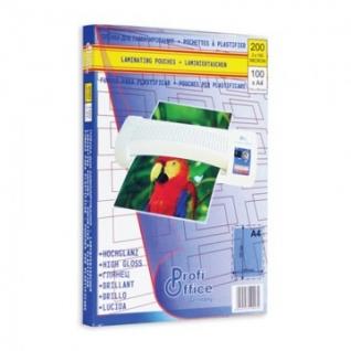 Пленка для ламинирования ProfiOffice А4, 100мкм 100шт/уп.
