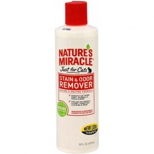 8in1 8in1 уничтожитель пятен и запахов от кошек NM JFC S&O Remover универсальный 473 мл