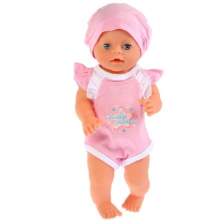 Одежда для кукол 40-42 см, розовый боди 'мамина радость', в пакете, Карапуз в кор.200шт