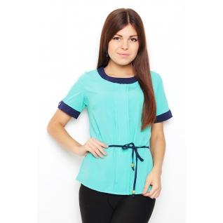 Блуза с коротким рукавом 46 размер