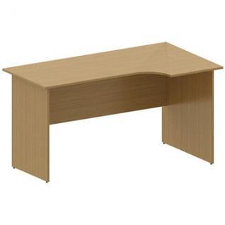 Мебель MON_Канц Стол эргономичный правый СК30.9 орех