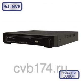 9-канальный IP видеорегистратор MATRIX M-9IP Prime