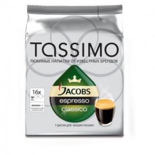 Кофе в капсулах Tassimo Espresso 16 порций
