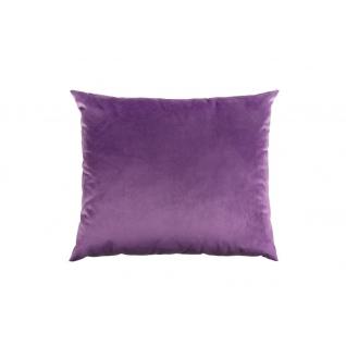 Подушка декоративная на молнии 450х550 Пурпурная фиалка 93