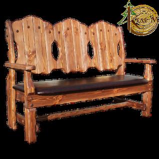 Кресло-скамья Добряк (кожа)