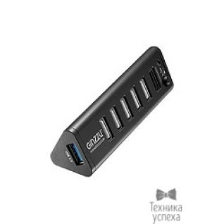 Ginzzu HUB GR-315UB Ginzzu USB 3.0/2.0, 7 port(1xUSB3.0+6xUSB2.0)