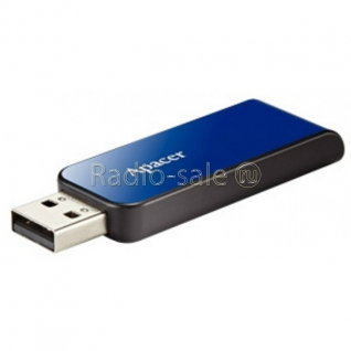 Память USB 2.0 8 GB Apacer Handy Steno AH-334, синий (AP8GAH334U-1)