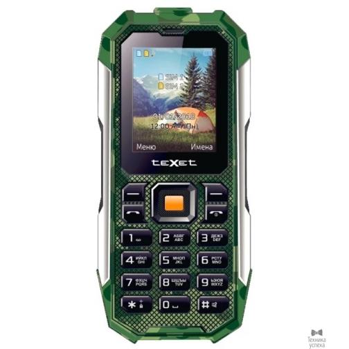 Texet 518R-TM мобильный телефон цвет зеленый 36971547