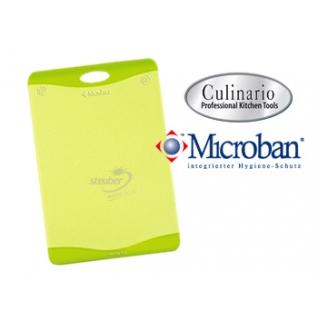 Кухонные разделочные доски Steuber GmbH Разделочная доска с антибактериальной защитой Microban® зеленая NW-CBM-G
