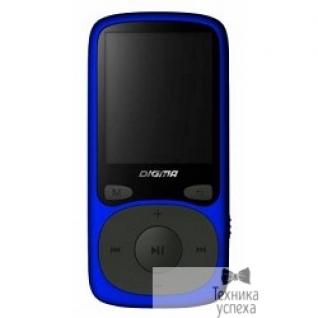 """Digma 363324 Плеер Flash Digma B3 8Gb синий/1.8""""/FM/microSD"""