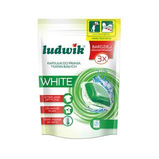 Гель в капсулах для стирки белых тканей Ludwik, 15 шт.
