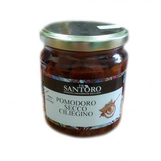 SANTORO Сушеные помидоры черри в масле 314мл